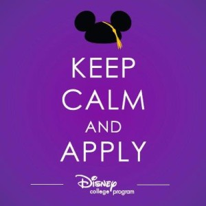 disney college apply